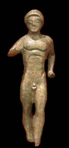 Greek Bronze Kouros