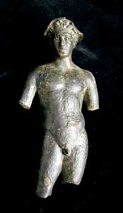 Roman Bronze Sculpture of a Man
