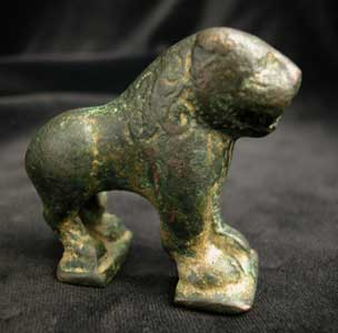 Iron Age Sculpture of a Lion