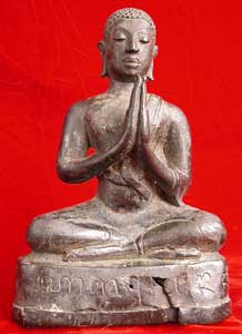 Lan Na Sculpture of a Buddhist Disciple