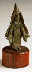 Bronze Votary Possibly Depicting a Priestess