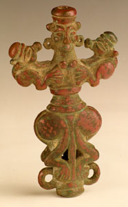 Luristan Finial Depicting a Mistress of the Beasts
