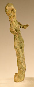Canaanite Bronze Votive Sculpture