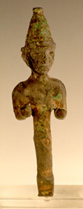 Canaanite Bronze Sculpture of a Deity