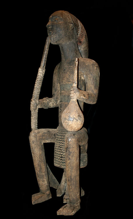 Cameroon Grasslands Sculpture of a Smoker
