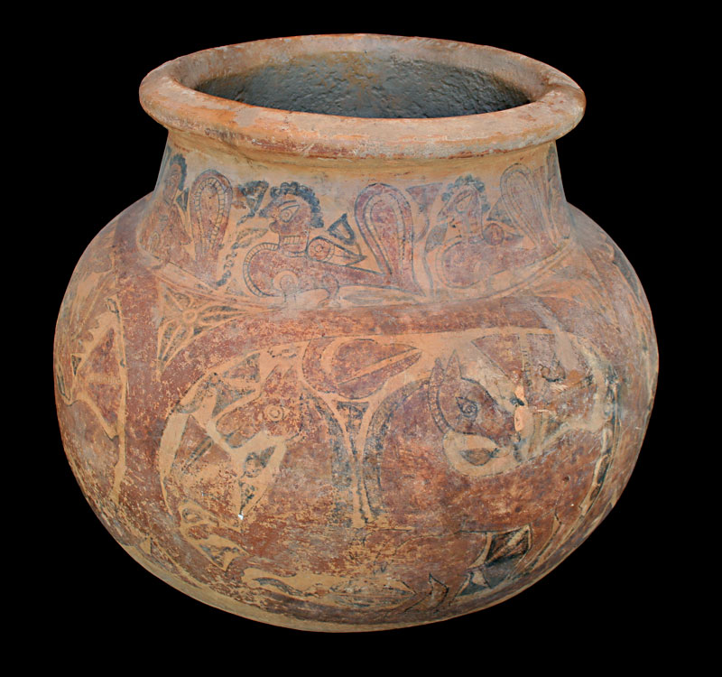 Kushan Dynasty Terracotta Jar