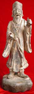Song Bronze Sculpture of a Taoist Immortal