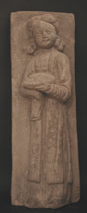 Relief Panel Depicting an Attendant