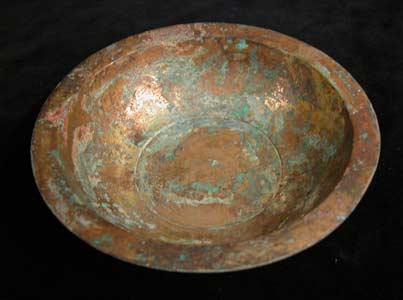Warring States Gilt Bronze Bowl