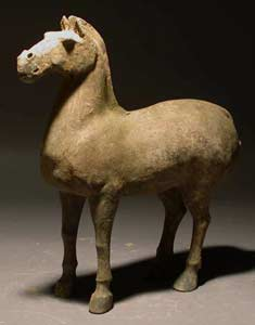 Han Sculpture of a Horse