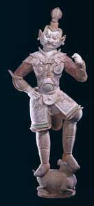 Sculpture of a Lokapala