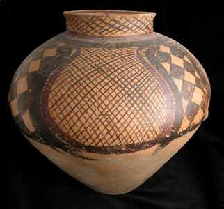 Neolithic Yangshao Painted Terracotta Vessel