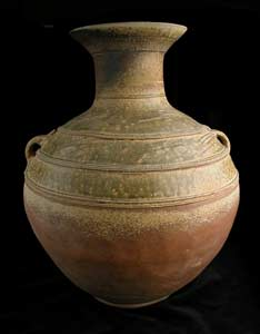 Warring States Glazed Terracotta Hu