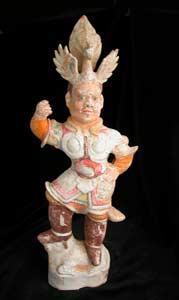 T'ang Sculpture of a Lokapala