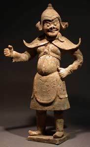 Tang Sculpture of a Warrior