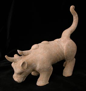Han Terracotta Mythological Beast