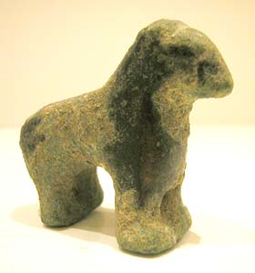 Iron Age Bronze Sculpture of a Horse