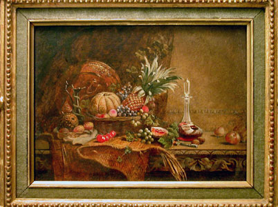 <i>Still Life with Fruits</i> by John Henry Dell
