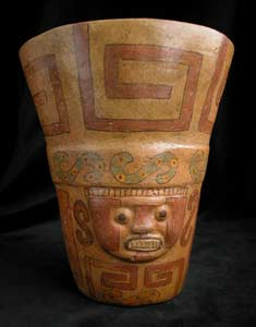 Ceremonial Polychrome Beaker