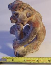 Nayarit Figure of a Male Sucking his Toe