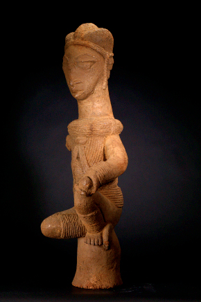 Nok Terracotta Sculpture of a Woman