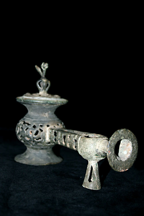 Bronze  Incence Burner