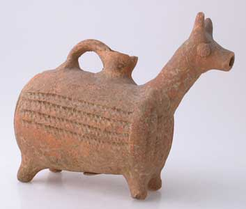 Roman Period Vessel in the Form of a Stylized Animal