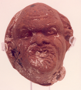 Terracotta Sculpture of a Head