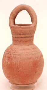Terracotta Pot with Handle