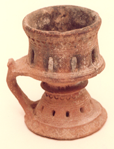 Islamic Incense Burner with a Handle