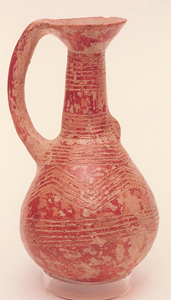 Late Bronze Age Jug with Incised Patterns