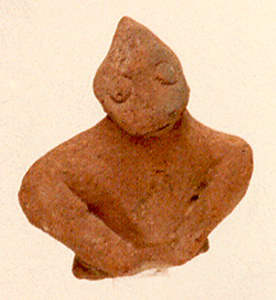 Iron Age Votive Sculpture of a Head