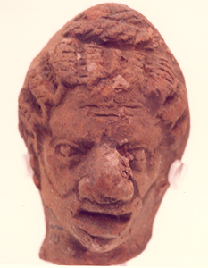 Sculpture of a Head of a Man