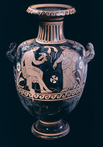 Pasteum Red-Figure Hydria