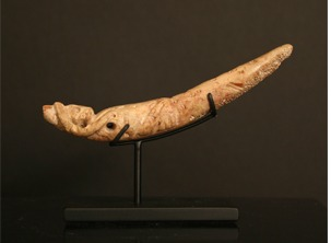 Colima Fossilized Bone Amulet of a  Coatimundi