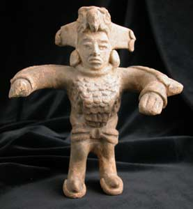 Sculpture of an Eagle Dancer