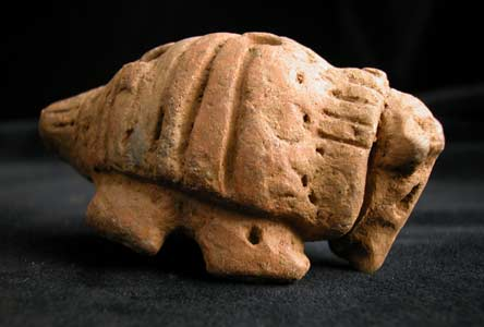 Mayan Armadillo Effigy Whistle