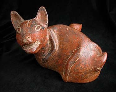 Colima Vessel in the Form of a Dog