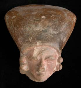 Bahia Terracotta Fragment of a Head