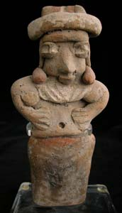 Michoacan Sculpture of a Standing Woman