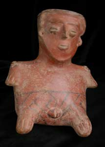 Nayarit Vessel in the Form of a Woman