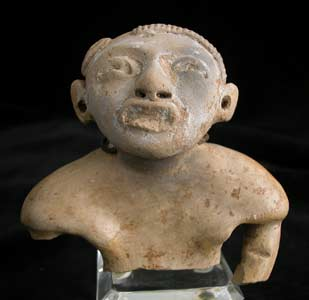 Mayan Votive Sculpture of a Man