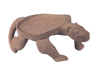 Basalt Metate in the Form of a Jaguar