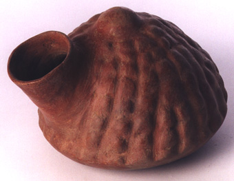 Colima Gourd-Shaped Vessel