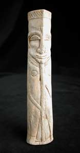 Carved Bone Handle