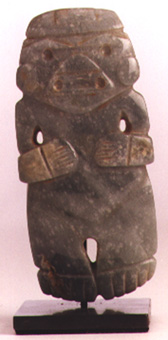 Atlantic Watershed Jade Figure-Celt Pendant