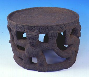 Ceremonial Basalt Metate
