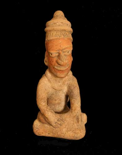 Mayan Figural Whistle