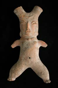 Tlatilco Sculpture of a Standing Woman