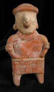 Nayarit Sculpture of a Standing Woman